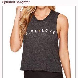 Spiritual gangster give love tank
